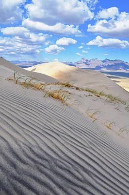Photograph - Kelso Dunes Desert Portrait by Kyle Hanson