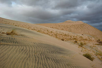 Photograph - Kelso Dunes Mojave Storm by Kyle Hanson