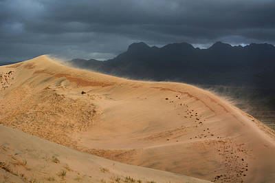 Photograph - Kelso Dunes Shifting Sands by Kyle Hanson