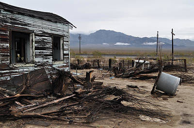Photograph - Kelso Mojave Desert Ghost Town by Kyle Hanson