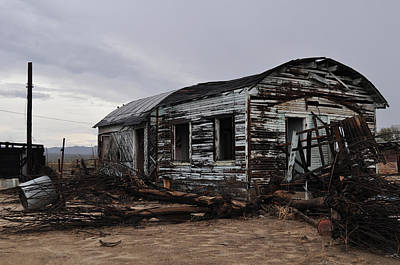 Photograph - Kelso Mojave Ghost Town by Kyle Hanson