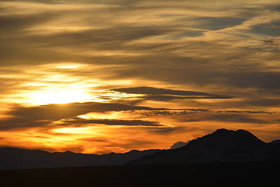 Photograph - Kelso Mountains Sunset by Kyle Hanson