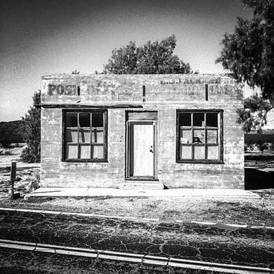 Desert Photograph - Kelso Post Office. The Old Post Office by Alex Snay