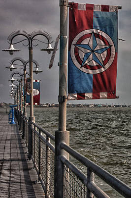 Photograph - Kemah Boardwalk by James Woody