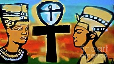 Liberal Painting - Kemetic Life by Tony B Conscious
