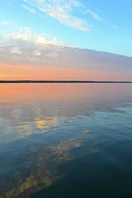 Photograph - Kempenfelt Bay At Sunset  by Lyle Crump
