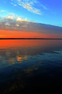 Photograph - Kempenfelt Bay At Sunset Two  by Lyle Crump