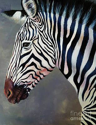 Painting - Ken The Zebra by Arti Chauhan