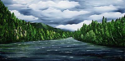 Painting - Kenai by Stephen Daddona