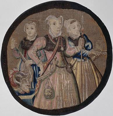 Tapestry - Textile - Textiles Tapestry Kenau Simonsdochter Hasselaer And Her Companions by R Muirhead Art