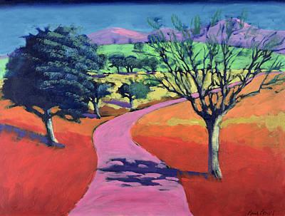 Warm Colors Painting - Kendal by Paul Powis