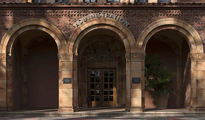 Cal State Photograph - Kendall Hall Administration Building -  Cal State University Chico by Mountain Dreams