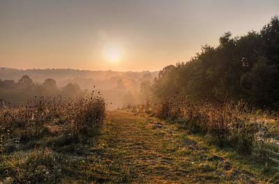 Photograph - Kendell Hills Sunrise by Ann Bridges