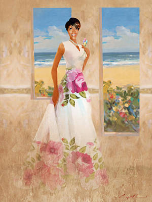 Painting - Kendra by Carey Muhammad