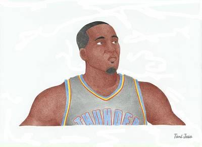 Kendrick Perkins Art Print