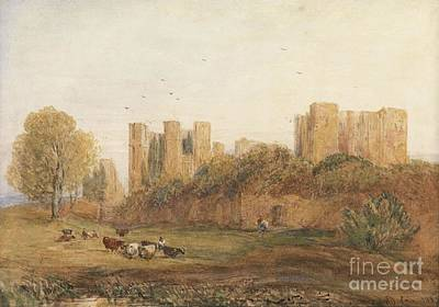 Kenilworth Castle Wall Art - Painting - Kenilworth Castle by MotionAge Designs