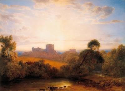 Kenilworth Castle Wall Art - Painting - Kenilworth Castle by Peter DeWint