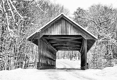 Photograph - Keniston Covered Bridge  by Betty Pauwels