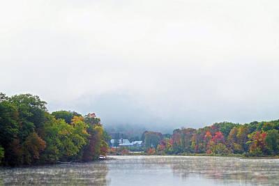 Digital Art - Kennebec Mist by Patrick Groleau