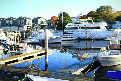 Photograph - Kennebunk Port Morning by Dennis Baswell