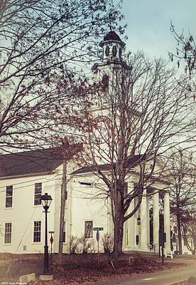 Photograph - Kennebunkport Church  by Debra Forand