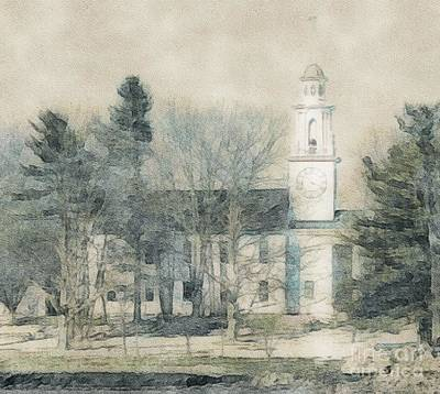 Photograph - Kennebunkport Church by Marcia Lee Jones