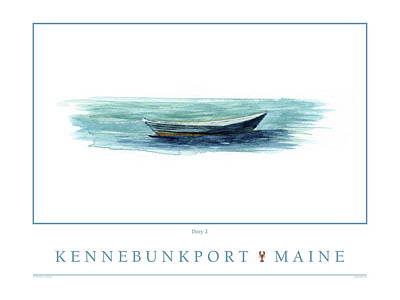 Digital Art - Kennebunkport Dory 2 by Paul Gaj