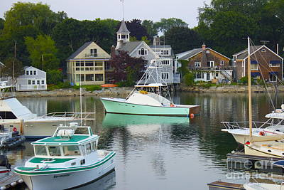 Kennebunkport Harbor Art Print