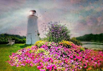 Photograph - Kennebunkport Lighthouse by Diana Angstadt