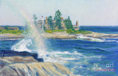 Painting - Kennebunkports Rainbow by Candace Lovely