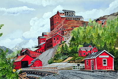 Painting - Kennecott by John W Walker