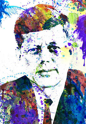 Celebrities Painting - Kennedy by Dante Blacksmith