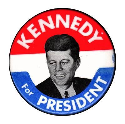 Democratic Mixed Media - Kennedy For President by Otis Porritt
