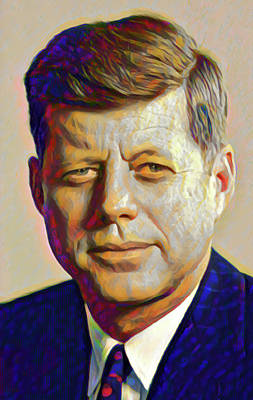 Digital Art - Kennedy by Gary Grayson