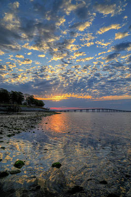 Photograph - Kennedy Park Sunrise by John Loreaux