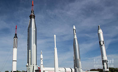 Photograph - Kennedy Space Missiles by Suzanne Luft