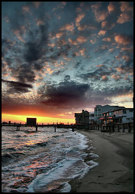 Photograph - Kennedy Sunset by John Loreaux