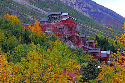Photograph - Kennicutt Mine Mill Bldg 2 by Alan Lenk