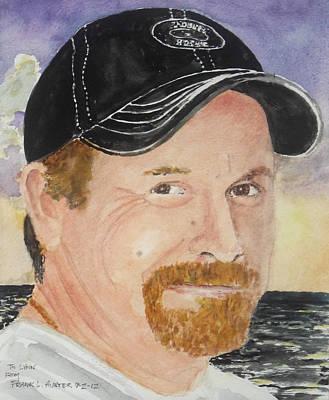 Kenny Brown Memorial Art Print