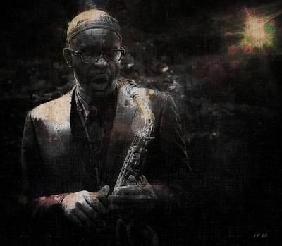 Photograph - Kenny Garrett,5 Tet,jazz  by Jean Francois Gil
