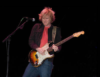 Photograph - Kenny Wayne Shepherd And His 1961 Fender Sunburst Stratocaster by Ginger Wakem