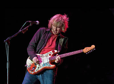 Photograph - Kenny Wayne Shepherd With Jimi Hendrix Monteray Pop Stratocaster by Ginger Wakem