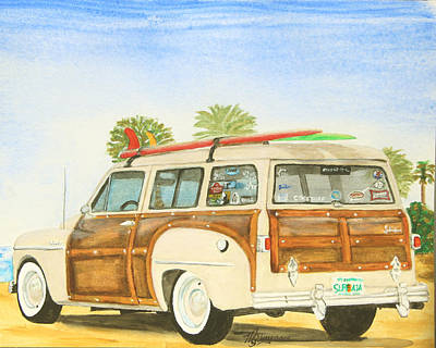 Summer Fun Painting - Kenny's Ride by M Gilroy