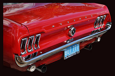 Photograph - Ken's Mustang by Bill Dutting