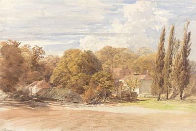 Kensington Painting - Kensington Gardens by Samuel Palmer