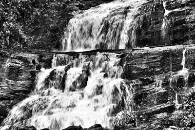 Photograph - Kent Falls by Laura DAddona