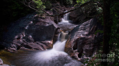 Photograph - Kent Falls State Park by New England Photography