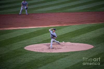 Photograph - Kenta Maeda - Dodgers by David Bearden