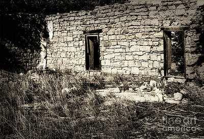Photograph - Kenton Ruins by Fred Lassmann