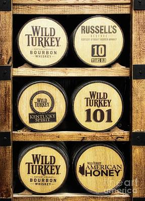 Photograph - Kentucky Bourbon Barrels by Mel Steinhauer
